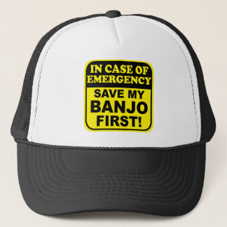 Banjo Emergency Trucker Hat