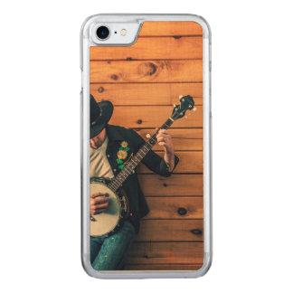 Banjo Man Carved iPhone 8/7 Case