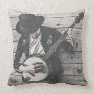 Banjo Man Pillow