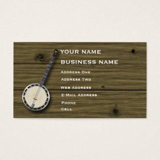 Banjo - Music Business Card