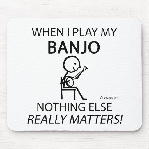 Banjo Nothing Else Matters Mousepad