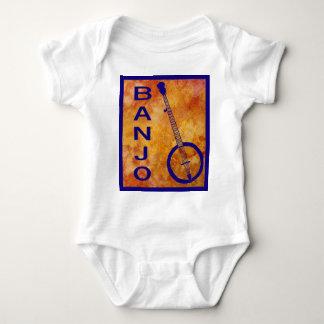 Banjo on a Fiery Field Baby Bodysuit