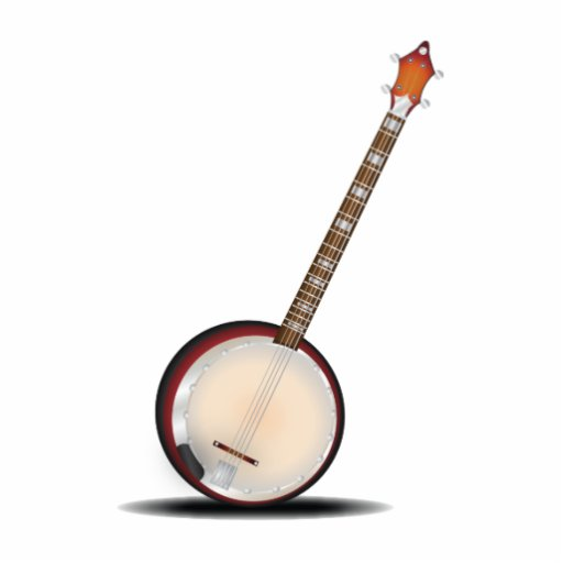 Banjo Photo Cutout