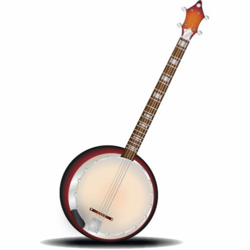 banjo photo sculpture