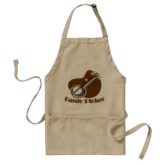 Banjo Picker Apron