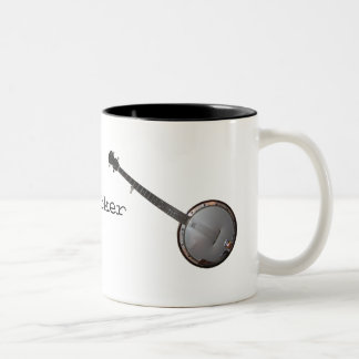 Banjo Picker Two-Tone Coffee Mug