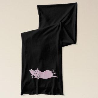 banjo pigs scarf