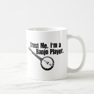 Banjo Player Coffee Mug