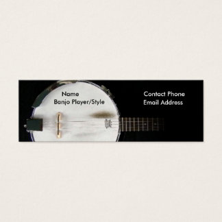 Banjo Player Contact Profile Card