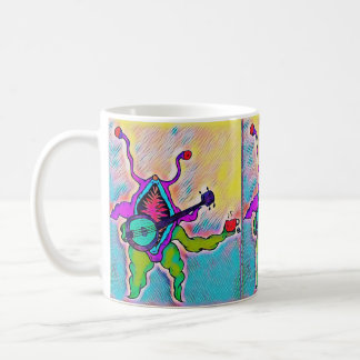 Banjo Playing Vagina Monster Coffee Mug