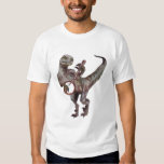 Banjo Playing Velociraptor T Shirts