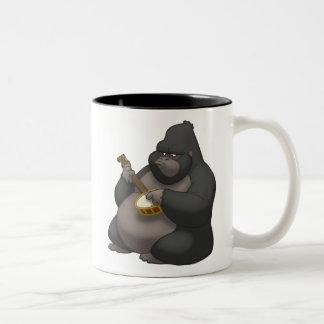 Banjo-Strummin' Gorilla Mug