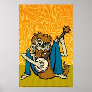 banjoman print