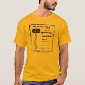 BanjoMuteShirt, www.pabluegrass.com T-Shirt
