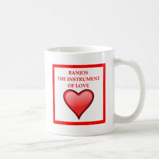 BANJOS COFFEE MUG