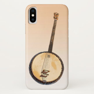 Banjos Musical Instrument iPhone X Case