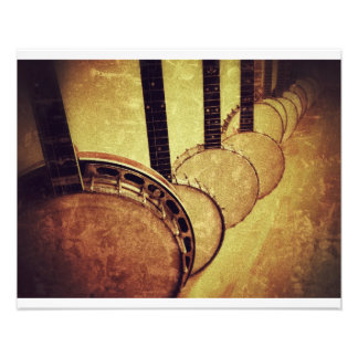 Banjos Photo Print