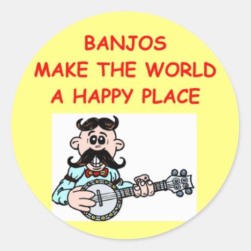 banjos stickers