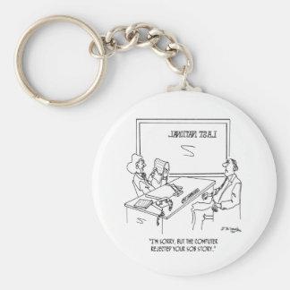 Bank Cartoon 1348 Keychain