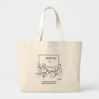 Bank Cartoon 1348 Large Tote Bag