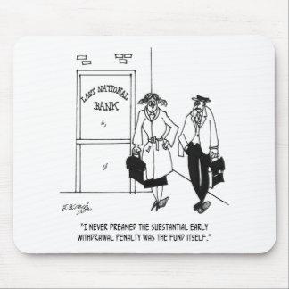 Bank Cartoon 3328 Mouse Pad