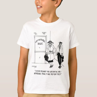 Bank Cartoon 3328 T-Shirt