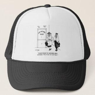 Bank Cartoon 3328 Trucker Hat