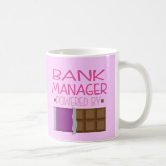 Bank Manager Chocolate Gift for Woman Coffee Mug