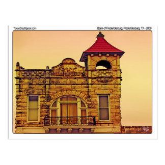 Bank of Fredericksburg, Fredericksburg, TX Postcard