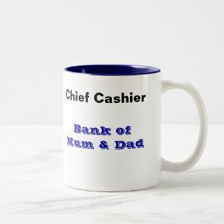 Bank of Mum and Dad Mug - Cashier
