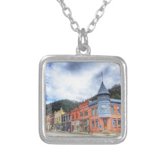 Bank Street Wallace Idaho Silver Plated Necklace