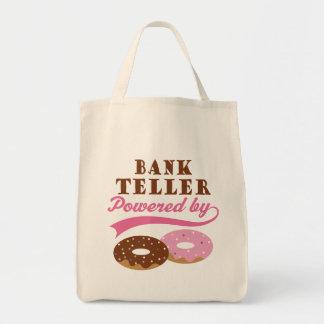 Bank Teller Funny Gift Tote Bag
