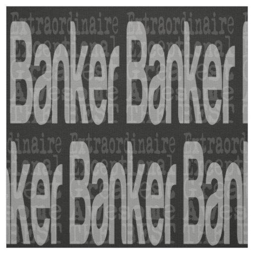 Banker Extraordinaire Fabric