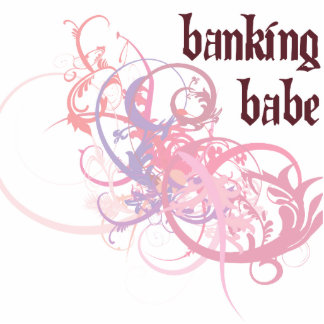 Banking Babe Photo Sculpture Ornament
