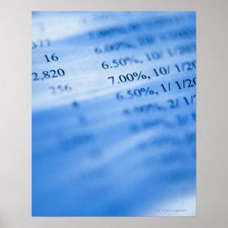 Banking charts print
