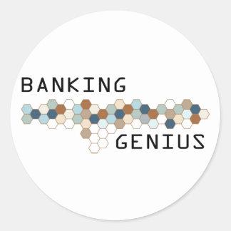 Banking Genius Stickers
