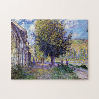 Banks of the Seine at Lavacourt Monet Fine Art Puzzle