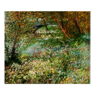 Banks of the Seine in the Spring - van Gogh Poster
