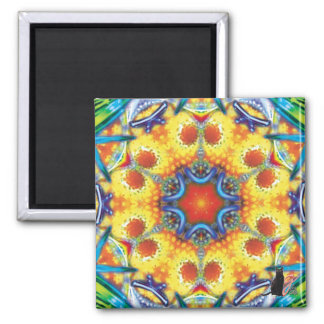 Bannapuddin Kaleidoscope Magnet