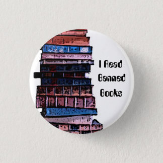 banned books 1 inch round button