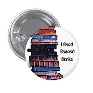 banned books 1 inch round button