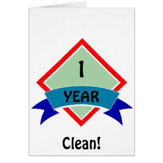 Banner 1 YEAR clean Card