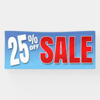 BANNER 25% OFF SALE