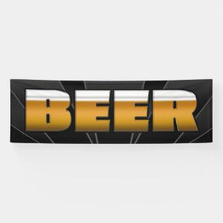 BANNER BEER  - 2.5'x8'