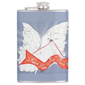 Banner Dove Hip Flask