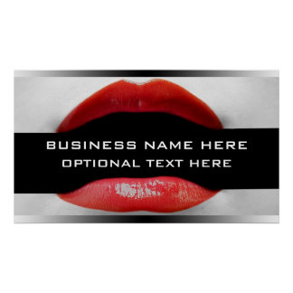 Banner For Cometic Business Poster