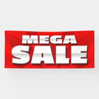 BANNER MEGA SALE  - 2.5'x6'