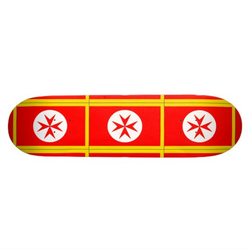 Banner of the Navy Tuscany Medici Skate Board