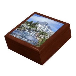 Banner Peak from Thousand Island - Sierra Nevada Gift Box
