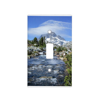 Banner Peak from Thousand Island - Sierra Nevada Light Switch Cover